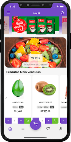 app de delivery para supermercados